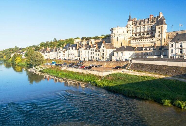 Chateau de Amboise na rieke Loire