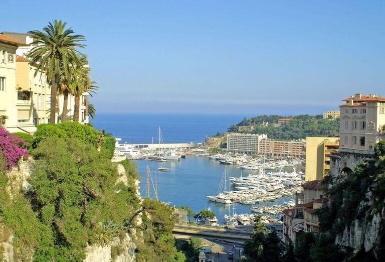Prístav v Monaku