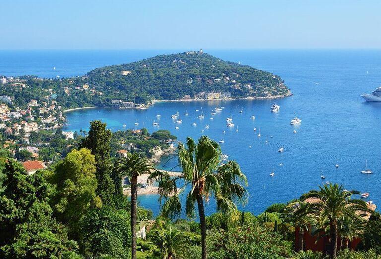 Pohľad na mesto Nice