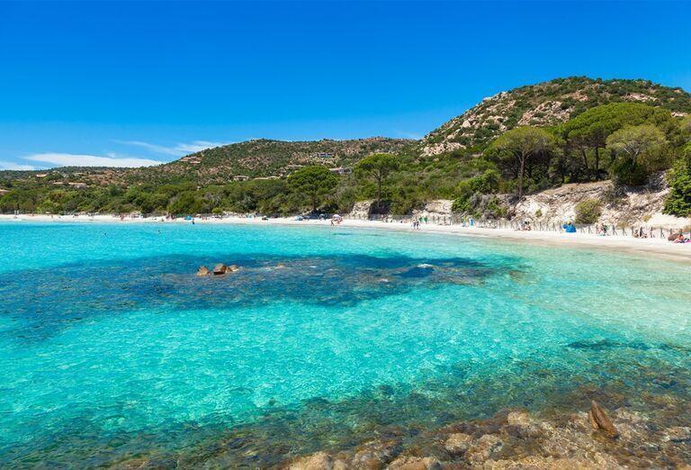Pláž Santa Giulia