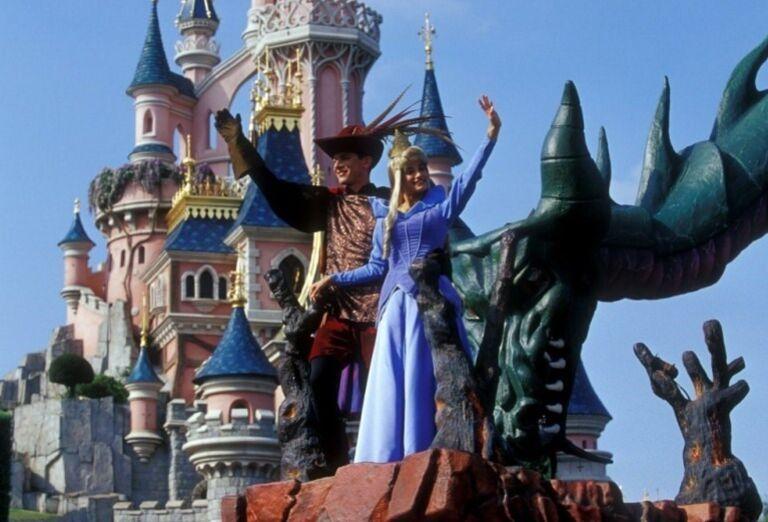 Disneyho kaštieľ, Paríž