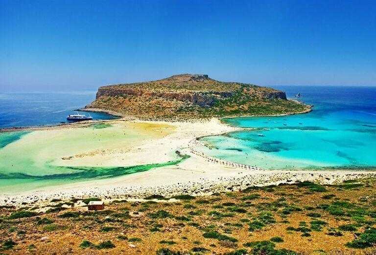 Pláže na Kréte