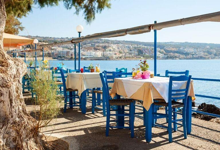 Reštaurácia s výhľadom na more
