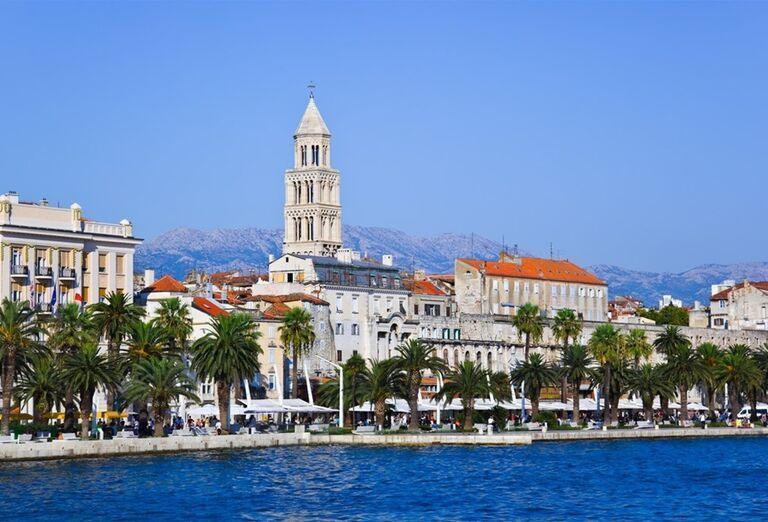Diokleciánov palác v meste Split