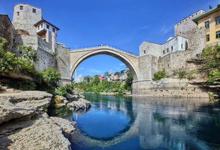 Starý most v meste Mostar