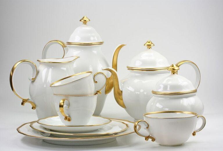 Herend a Pannonhalma - čajník a hrnčeky