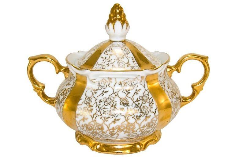 Herend a Pannonhalma - zdobená nádoba
