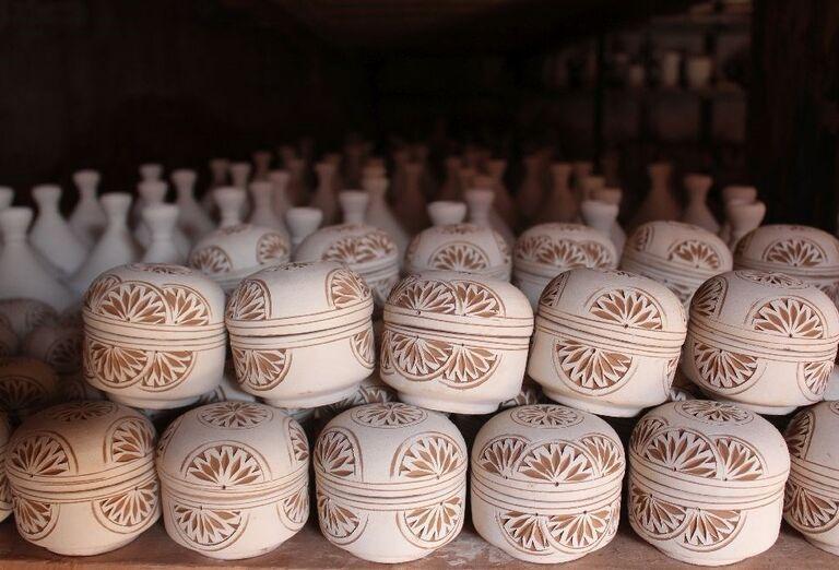Herend a Pannonhalma - drevené dekorácie