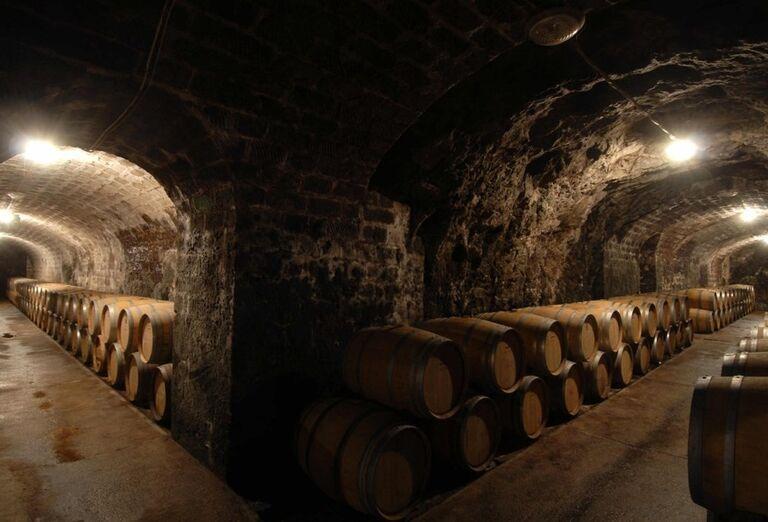 Vínna pivnica so sudmi