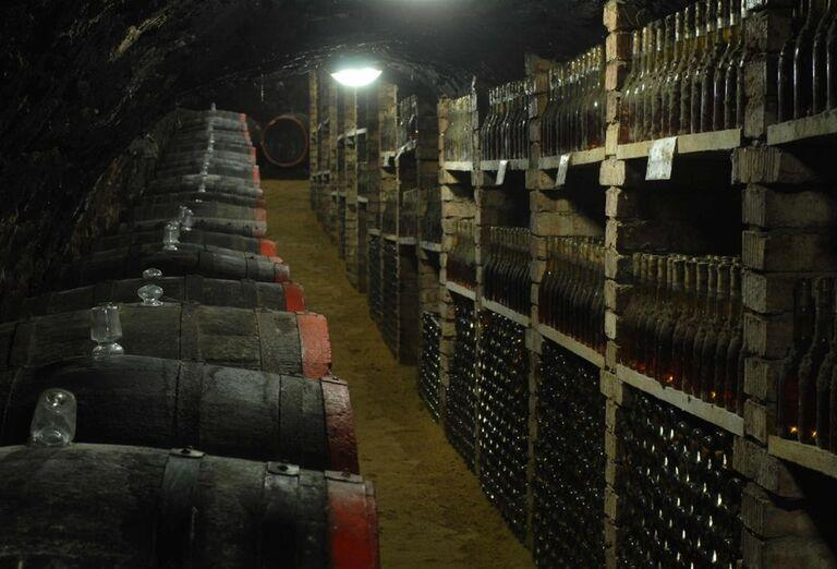 Vchod do vínnej pivnice