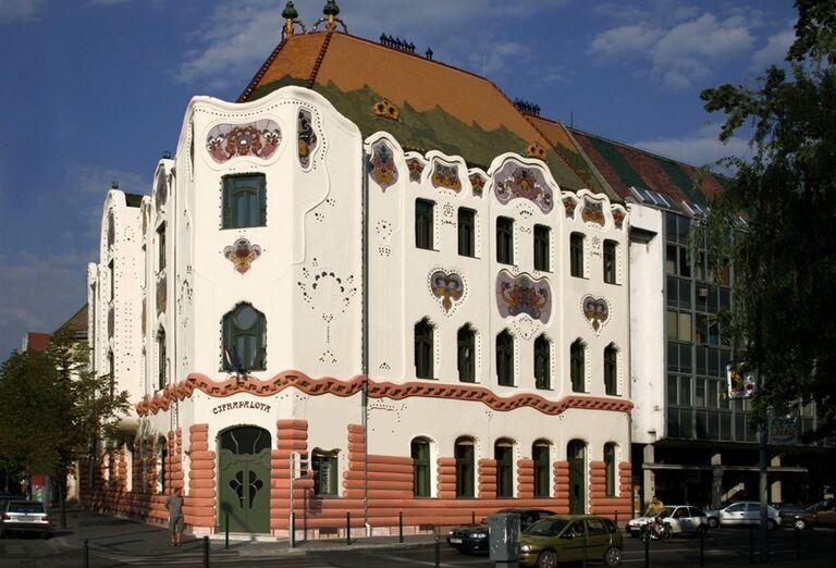 Budova v Maďarsku