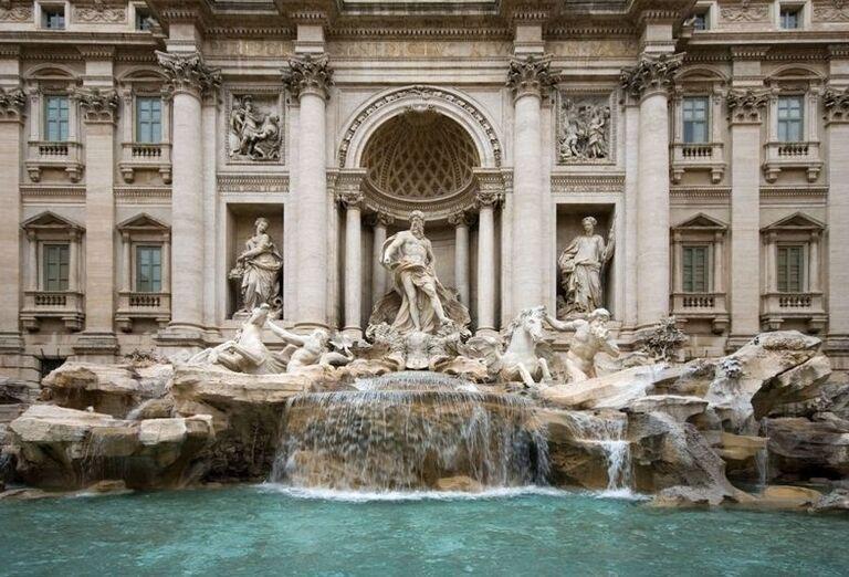 Fontana di Trevi, Rím, poznávací zájazd, Taliansko