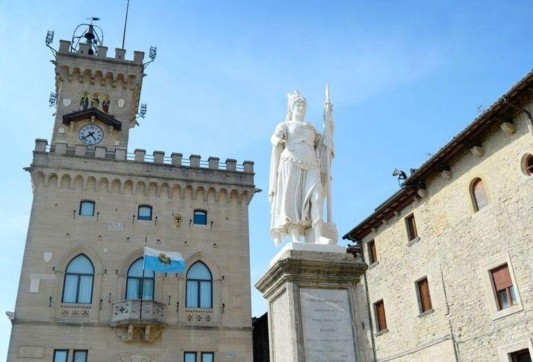 Palazzo Publico, San Marino, poznávací zájazd, Taliansko