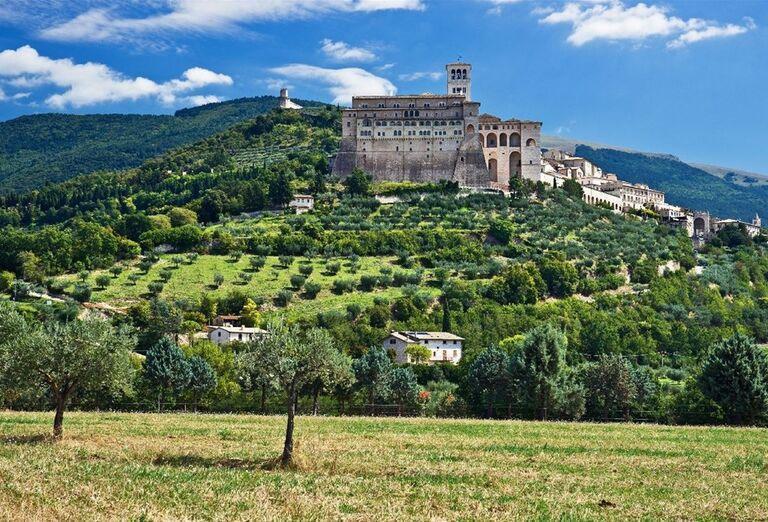 Assisi panoráma