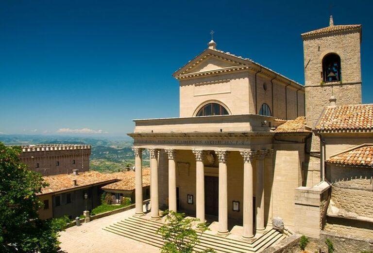 Bazilika Republiky, San Marino, poznávací zájazd, Taliansko