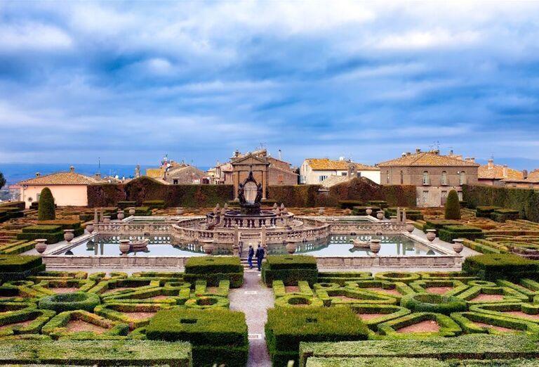Villa Lante, poznávací zájazd, Taliansko