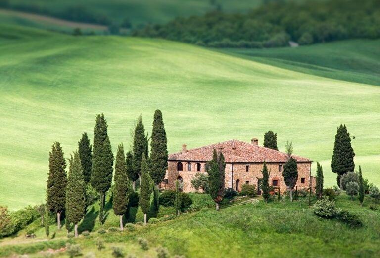 Toskánsky vidiek, poznávací zájazd, Taliansko