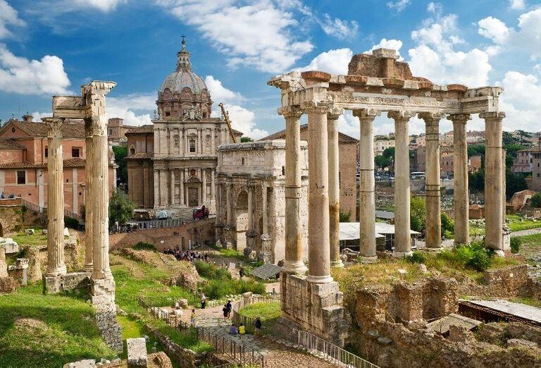 Forum Romanum, rím, poznávací zájazd, Taliansko