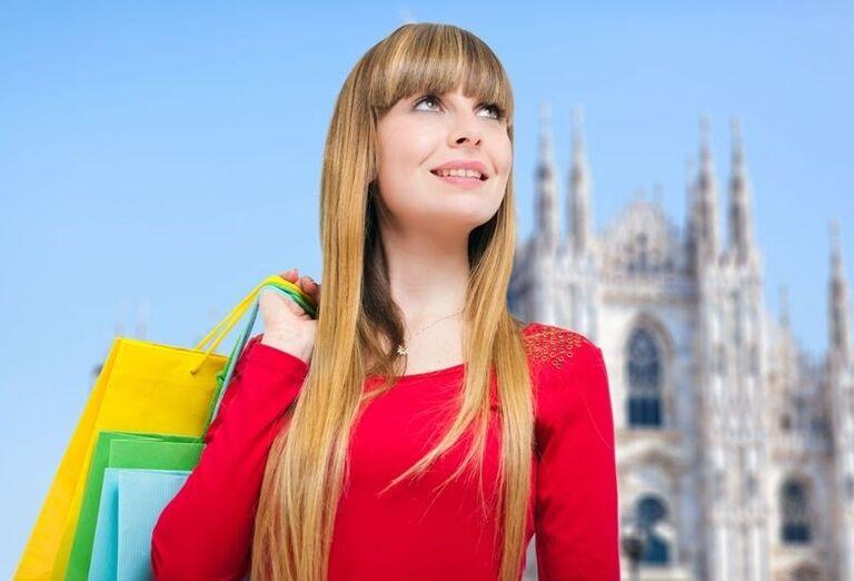 Nákupy v Miláne, poznávací zájazd, Taliansko