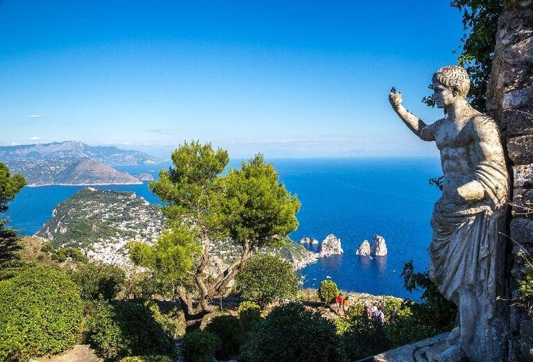 Capri, poznávací zájazd, Taliansko
