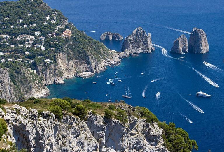 Capri a Vezuv, poznávací zájazd, Taliansko
