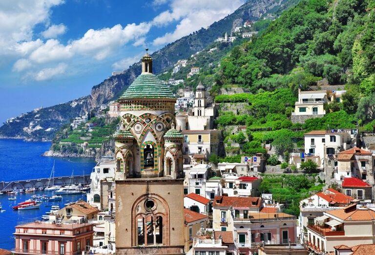 Amalfi, Kampánia, poznávací zájazd, Taliansko