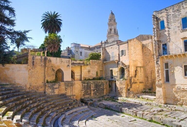 Rímske divadlo, Lecce, poznávací zájazd, Taliansko
