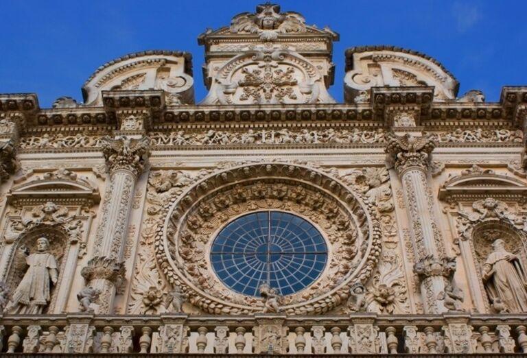 Bazilika Santa Croce, Lecce, poznávací zájazd, Taliansko