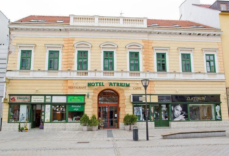 Pohľad na hotel Atrium
