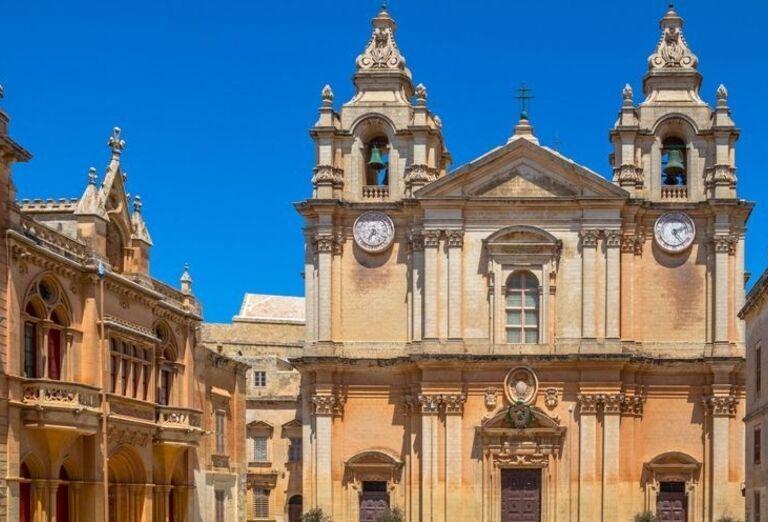 Mdina - Katedrala sv. Pavla, poznávací zájazd, Malta