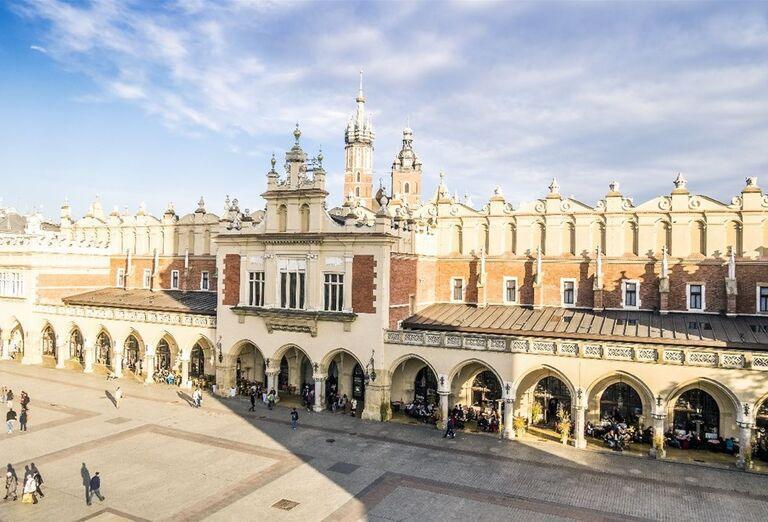 Námestie pri zámku Wawel
