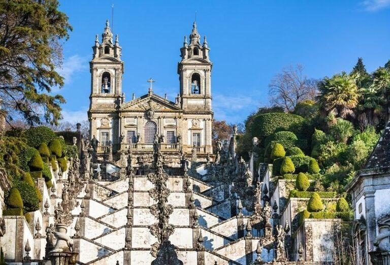Bom Jesu do Monte, Braga, poznávací zájazd, Portugalsko