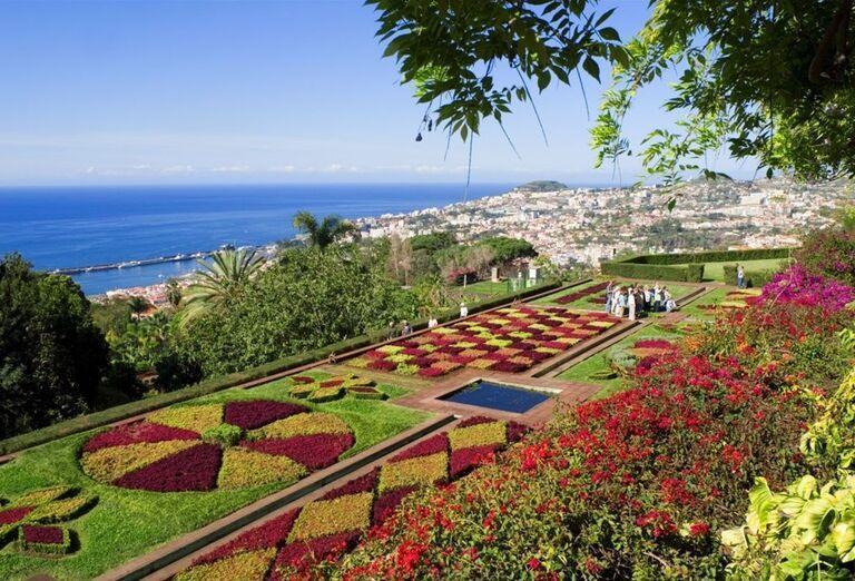 Botanická záhrada, Funchal, poznávací zájazd, Madeira, Portugalsko