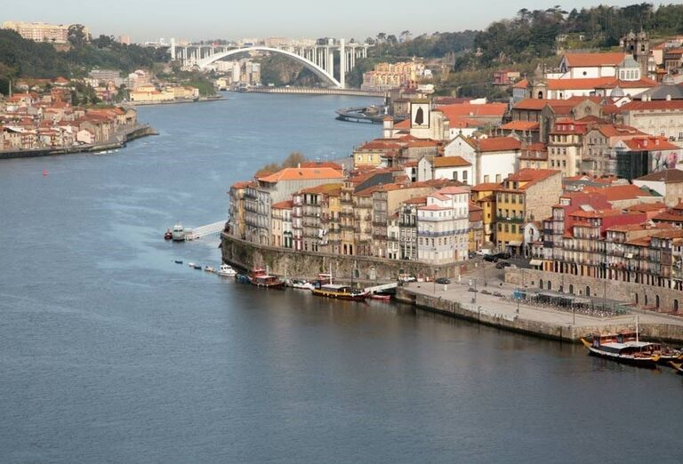 Výhľad na Porto