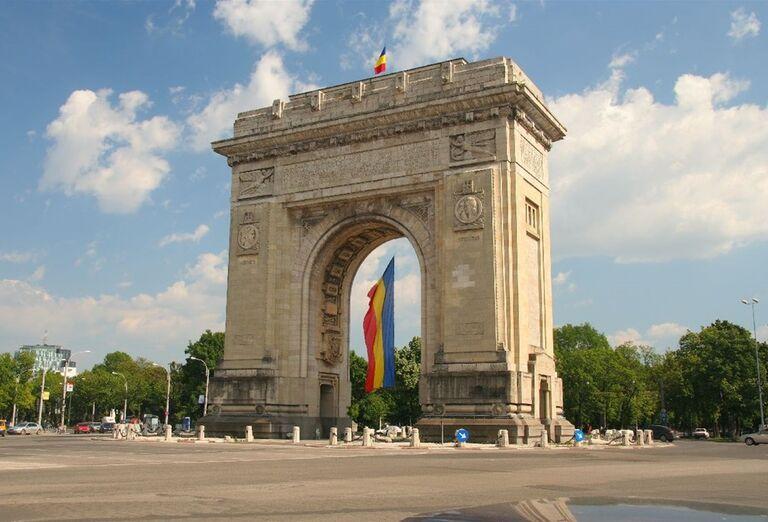 Rumunský víťazný oblúk v Bukurešti