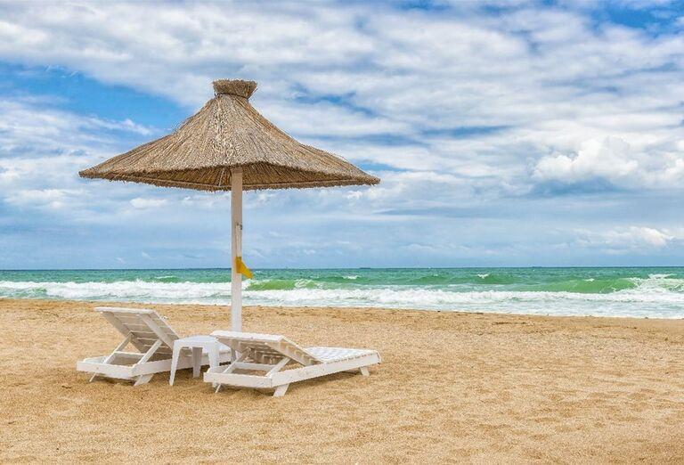 Oddych na príjemnom pobreží Čierneho mora