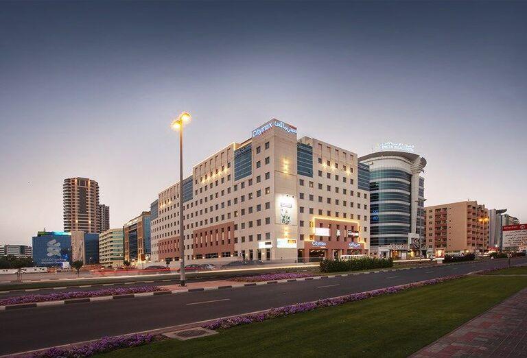 Budova hotela - Hotel Citymax Bur Dubai