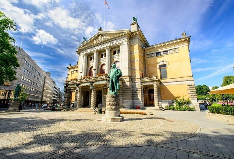 Národné divadlo v Osle, Nórsko