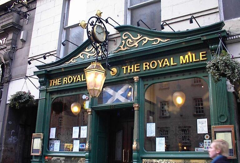 Vydáme sa po Kráľovskej míli - Royal Mile
