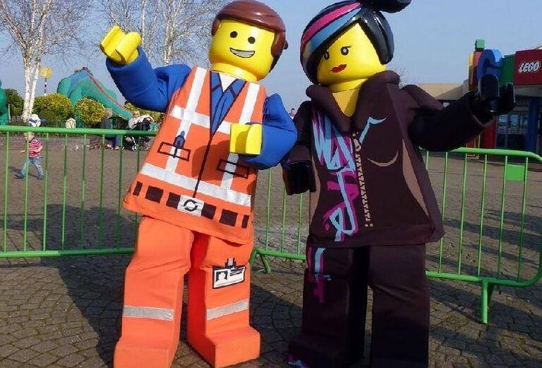 Postavičky v Legolande