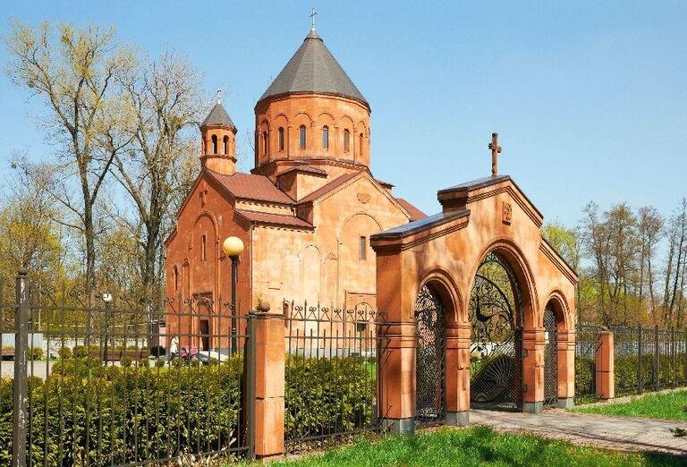 Arménsky kostol v Kaliningrade