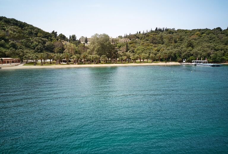Pláž Hotel Grecotel Lux Me Daphnila Bay Dassia *****