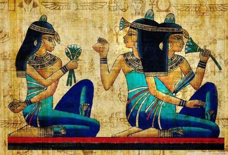 Egyptská maľba