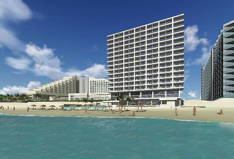 Hotel Coral Level at Iberostar Selection Cancun - pláž