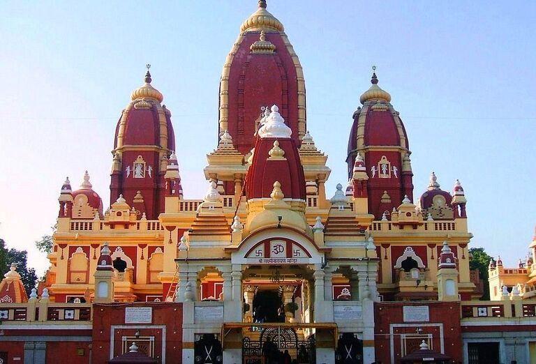 Chrám Laxminarayan Temple v Delhi