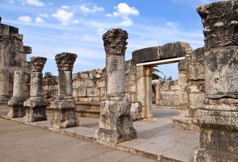 Ruiny synagógy Capernaum