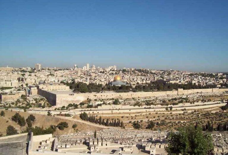Mesto Jeruzalem a Skalný dom
