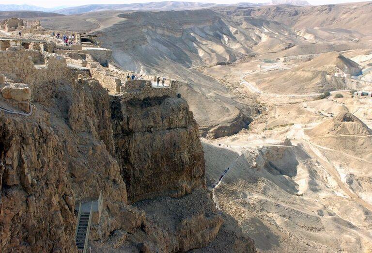 Pevnosť Masada, poznávací zájazd, Izrael