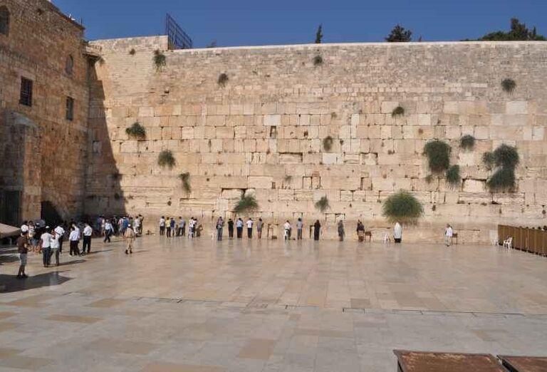 Izrael, múr nárekov