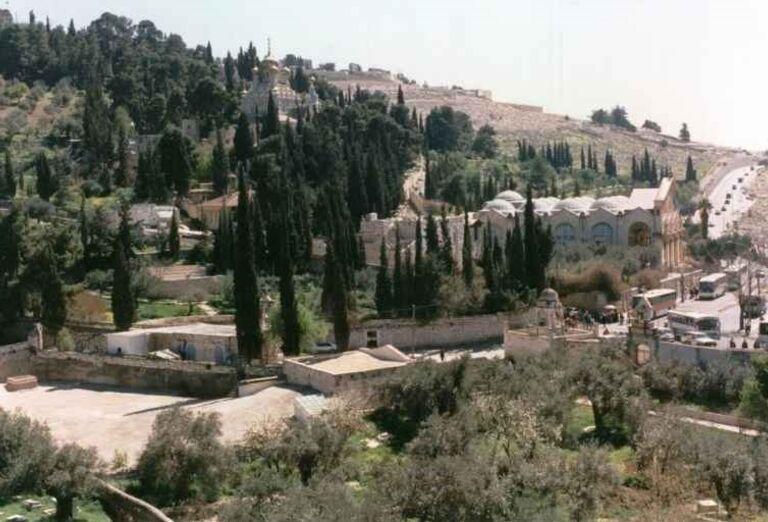 Cesta na Olivovú horu, kostol všetkých národov
